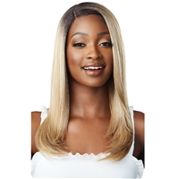 Glamourtress, wigs, weaves, braids, half wigs, full cap, hair, lace front, hair extension, nicki minaj style, Brazilian hair, crochet, hairdo, wig tape, remy hair, Lace Front Wigs, Outre Synthetic HD EveryWear Lace Front Wig - EVERY 4