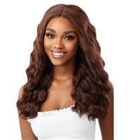 Glamourtress, wigs, weaves, braids, half wigs, full cap, hair, lace front, hair extension, nicki minaj style, Brazilian hair, crochet, hairdo, wig tape, remy hair, Lace Front Wigs, Outre Synthetic HD EveryWear Lace Front Wig - EVERY 7