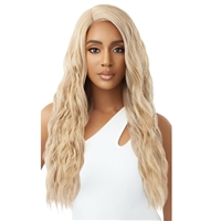 Glamourtress, wigs, weaves, braids, half wigs, full cap, hair, lace front, hair extension, nicki minaj style, Brazilian hair, crochet, hairdo, wig tape, remy hair, Lace Front Wigs, Outre Synthetic Pre-Plucked HD Lace Front Wig - JOLIE