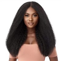 Glamourtress, wigs, weaves, braids, half wigs, full cap, hair, lace front, hair extension, nicki minaj style, Brazilian hair, crochet, hairdo, wig tape, remy hair, Lace Front Wigs, Outre Synthetic HD Lace Front Wig - SOLSTICE