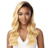 Glamourtress, wigs, weaves, braids, half wigs, full cap, hair, lace front, hair extension, nicki minaj style, Brazilian hair, crochet, hairdo, wig tape, remy hair, Lace Front Wigs, Remy Hair, Outre Synthetic Half Wig Quick Weave - CECILY