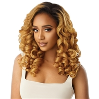 Glamourtress, wigs, weaves, braids, half wigs, full cap, hair, lace front, hair extension, nicki minaj style, Brazilian hair, crochet, hairdo, wig tape, remy hair, Lace Front Wigs, Remy Hair, Outre Synthetic Half Wig Quick Weave - JEANETTE