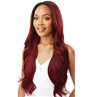 Glamourtress, wigs, weaves, braids, half wigs, full cap, hair, lace front, hair extension, nicki minaj style, Brazilian hair, crochet, hairdo, wig tape, remy hair, Lace Front Wigs, Remy Hair, Outre Synthetic Half Wig Quick Weave - JORDANA