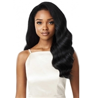 Glamourtress, wigs, weaves, braids, half wigs, full cap, hair, lace front, hair extension, nicki minaj style, Brazilian hair, crochet, hairdo, wig tape, remy hair, Lace Front Wigs, Remy Hair, Outre Synthetic Half Wig Quick Weave - LYNDI