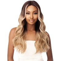 Glamourtress, wigs, weaves, braids, half wigs, full cap, hair, lace front, hair extension, nicki minaj style, Brazilian hair, crochet, hairdo, wig tape, remy hair, Lace Front Wigs, Outre Synthetic I-Part Swiss Lace Front Wig - STEVIE