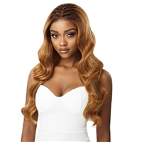 Glamourtress, wigs, weaves, braids, half wigs, full cap, hair, lace front, hair extension, nicki minaj style, Brazilian hair, crochet, hairdo, wig tape, remy hair, Lace Front Wigs, Outre Perfect Hairline Synthetic 13X6 Swiss Lace Front Wig - INDIA
