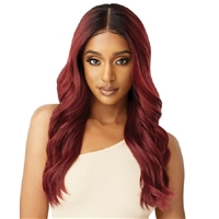 Glamourtress, wigs, weaves, braids, half wigs, full cap, hair, lace front, hair extension, nicki minaj style, Brazilian hair, crochet, hairdo, wig tape, remy hair, Lace Front Wigs, Outre Synthetic Melted Hairline Lace Front Wig - NATALIA