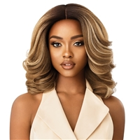 Glamourtress, wigs, weaves, braids, half wigs, full cap, hair, lace front, hair extension, nicki minaj style, Brazilian hair, crochet, hairdo, wig tape, remy hair, Lace Front Wigs, Outre Soft & Natural Synthetic Lace Front Wig - NEESHA 204