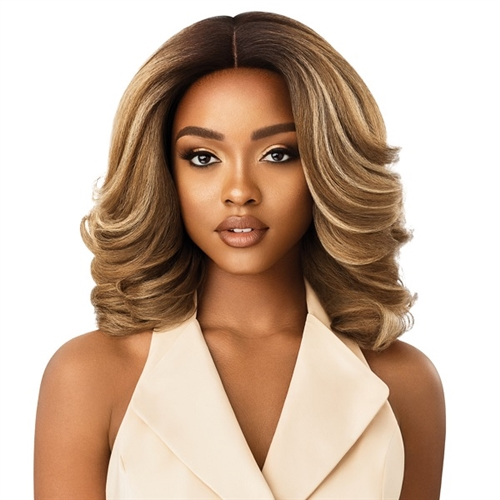 Outre Soft & Natural Synthetic Lace Front Wig - NEESHA 204