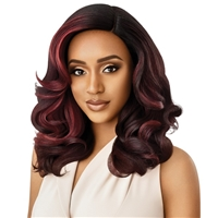 Glamourtress, wigs, weaves, braids, half wigs, full cap, hair, lace front, hair extension, nicki minaj style, Brazilian hair, crochet, hairdo, wig tape, remy hair, Lace Front Wigs, Outre Soft & Natural Synthetic Lace Front Wig - NEESHA 205