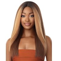Glamourtress, wigs, weaves, braids, half wigs, full cap, hair, lace front, hair extension, nicki minaj style, Brazilian hair, crochet, hairdo, wig tape, remy hair, Lace Front Wigs, Outre Soft & Natural Synthetic Lace Front Wig - NEESHA 207