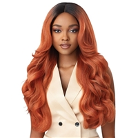 Glamourtress, wigs, weaves, braids, half wigs, full cap, hair, lace front, hair extension, nicki minaj style, Brazilian hair, crochet, hairdo, wig tape, remy hair, Lace Front Wigs, Outre Soft & Natural Synthetic Lace Front Wig - NEESHA 208