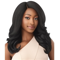Glamourtress, wigs, weaves, braids, half wigs, full cap, hair, lace front, hair extension, nicki minaj style, Brazilian hair, crochet, hairdo, wig tape, remy hair, Lace Front Wigs, Outre Soft & Natural Synthetic Lace Front Wig - NEESHA 209
