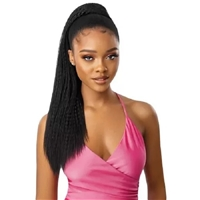 Glamourtress, wigs, weaves, braids, half wigs, full cap, hair, lace front, hair extension, nicki minaj style, Brazilian hair, crochet, hairdo, wig tape, remy hair, Lace Front Wigs, Remy Hair, Outre Synthetic Pretty Quick Pony - NOVA