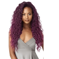 Glamourtress, wigs, weaves, braids, half wigs, full cap, hair, lace front, hair extension, nicki minaj style, Brazilian hair, crochet, hairdo, wig tape, remy hair, Lace Front Wigs, Remy Hair, Outre Synthetic Quick Weave Half Wig - BRIYANNA