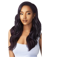 Glamourtress, wigs, weaves, braids, half wigs, full cap, hair, lace front, hair extension, nicki minaj style, Brazilian hair, crochet, hairdo, wig tape, remy hair, Lace Front Wigs, Remy Hair, Outre Synthetic Quick Weave Half Wig - NORTH