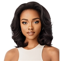 Glamourtress, wigs, weaves, braids, half wigs, full cap, hair, lace front, hair extension, nicki minaj style, Brazilian hair, crochet, hairdo, wig tape, remy hair, Lace Front Wigs, Remy Hair, Outre Synthetic Quick Weave Half Wig - SHONTAY