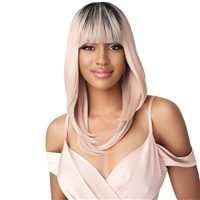 Glamourtress, wigs, weaves, braids, half wigs, full cap, hair, lace front, hair extension, nicki minaj style, Brazilian hair, crochet, hairdo, wig tape, remy hair, Lace Front Wigs, Remy Hair, Outre Synthetic Wigpop Full Wig - GABBY