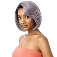 Glamourtress, wigs, weaves, braids, half wigs, full cap, hair, lace front, hair extension, nicki minaj style, Brazilian hair, crochet, hairdo, wig tape, remy hair, Lace Front Wigs, Remy Hair, Outre Synthetic Wigpop Full Wig - JOSETTE
