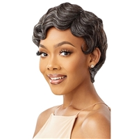 Glamourtress, wigs, weaves, braids, half wigs, full cap, hair, lace front, hair extension, nicki minaj style, Brazilian hair, crochet, hairdo, wig tape, remy hair, Lace Front Wigs, Remy Hair, Outre Wigpop Synthetic Hair Wig - FRANCINE