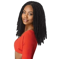 Glamourtress, wigs, weaves, braids, half wigs, full cap, hair, lace front, hair extension, nicki minaj style, Brazilian hair, crochet, hairdo, wig tape, remy hair, Lace Front Wigs, Outre Synthetic Braid - X PRESSION TWISTED UP 2X SPRINGY AFRO TWIST 12