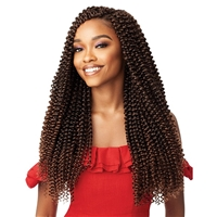 Glamourtress, wigs, weaves, braids, half wigs, full cap, hair, lace front, hair extension, nicki minaj style, Brazilian hair, crochet, hairdo, wig tape, remy hair, Lace Front Wigs, Outre Synthetic Braid X PRESSION TWISTED UP - PASSION BUTTERFLY CURL 20