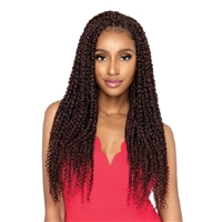 Glamourtress, wigs, weaves, braids, half wigs, full cap, hair, lace front, hair extension, nicki minaj style, Brazilian hair, crochet, hairdo, wig tape, remy hair, Outre Synthetic X-Pression Twisted Up Crochet Braids - PASSION BOHEMIAN FEED TWIST 22