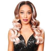 Glamourtress, wigs, weaves, braids, half wigs, full cap, hair, lace front, hair extension, nicki minaj style, Brazilian hair, crochet, hairdo, wig tape, remy hair, Lace Front Wigs, Remy Hair, Zury Sis Prime HH Blend HD Lace Wig - PM FRONTAL LACE IZA