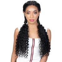 Glamourtress, wigs, weaves, braids, half wigs, full cap, hair, lace front, hair extension, nicki minaj style, Brazilian hair, crochet, hairdo, wig tape, remy hair, Lace Front Wigs, Zury Sis Synthetic Double Dutch 360 Lace Wig - 360 DD LACE H  RIMI