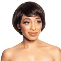 Glamourtress, wigs, weaves, braids, half wigs, full cap, hair, lace front, hair extension, nicki minaj style, Brazilian hair, crochet, hairdo, wig tape, remy hair, Lace Front Wigs, Remy Hair, Zury Sis Revive 100% Human Hair Wig - HR MINI
