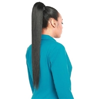 Glamourtress, wigs, weaves, braids, half wigs, full cap, hair, lace front, hair extension, nicki minaj style, Brazilian hair, crochet, hairdo, wig tape, remy hair, Lace Front Wigs, Zury Synthetic EZ Wrap Ponytail - STRAIGHT