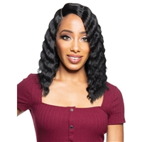 Glamourtress, wigs, weaves, braids, half wigs, full cap, hair, lace front, hair extension, nicki minaj style, Brazilian hair, crochet, hairdo, wig tape, remy hair, Lace Front Wigs, Zury Sis Beyond Synthetic Hair Lace Front Wig - BYD LACE H CRIMP 12