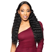 Glamourtress, wigs, weaves, braids, half wigs, full cap, hair, lace front, hair extension, nicki minaj style, Brazilian hair, crochet, hairdo, wig tape, remy hair, Lace Front Wigs, Zury Sis Beyond Synthetic Hair Lace Front Wig - BYD LACE H CRIMP 24