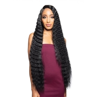 Glamourtress, wigs, weaves, braids, half wigs, full cap, hair, lace front, hair extension, nicki minaj style, Brazilian hair, crochet, hairdo, wig tape, remy hair, Lace Front Wigs, Zury Sis Beyond Synthetic Hair Lace Front Wig - BYD LACE H CRIMP 34