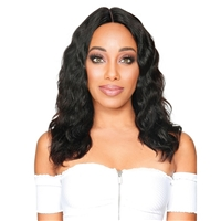 Glamourtress, wigs, weaves, braids, half wigs, full cap, hair, lace front, hair extension, nicki minaj style, Brazilian hair, crochet, hairdo, remy hair, Lace Front Wigs, Zury Sis 100% Human Hair Wet & Wavy HD Lace Front Wig - HRH BRZ LACE WW PIO