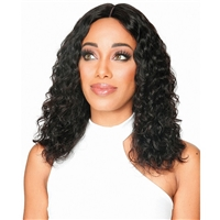 Glamourtress, wigs, weaves, braids, half wigs, full cap, hair, lace front, hair extension, nicki minaj style, Brazilian hair, crochet, hairdo, remy hair, Lace Front Wigs, Zury Sis 100% Human Hair Wet & Wavy HD Lace Front Wig - HRH BRZ LACE WW WON