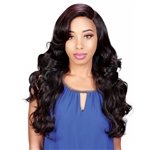 Glamourtress, wigs, weaves, braids, half wigs, full cap, hair, lace front, hair extension, nicki minaj style, Brazilian hair, crochet, hairdo, wig tape, remy hair, Lace Front Wigs, Remy Hair, Zury Sis Sassy Synthetic Hair 6 inch Half Moon Part Wig - SASSY