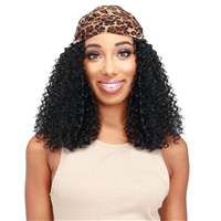 Glamourtress, wigs, weaves, braids, half wigs, full cap, hair, lace front, hair extension, nicki minaj style, Brazilian hair, crochet, hairdo, wig tape, remy hair, Lace Front Wigs, Zury Sis Synthetic Hair Scarf Wig - SF H CINTO