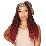 Glamourtress, wigs, weaves, braids, half wigs, full cap, hair, lace front, hair extension, nicki minaj style, Brazilian hair, crochet, hairdo, wig tape, remy hair, Lace Front Wigs, Zury Sis Synthetic Hair Scarf Wig - SF H TREZ