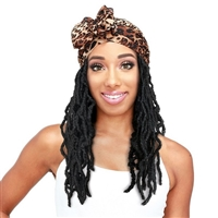 Glamourtress, wigs, weaves, braids, half wigs, full cap, hair, lace front, hair extension, nicki minaj style, Brazilian hair, crochet, hairdo, wig tape, remy hair, Lace Front Wigs, Zury Sis Synthetic Hair Scarf Wig - SF-WIGGLE LOC