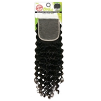 Zury Sis Only Unprocessed Brazilian Human Hair - ONLY BRZ 4X4 CLOSURE DEEP 12