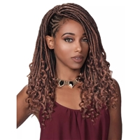 Glamourtress, wigs, weaves, braids, half wigs, full cap, hair, lace front, hair extension, nicki minaj style, Brazilian hair, crochet, hairdo, wig tape, remy hair, Lace Front Wigs, Remy Hair, Zury Loc Braid Deep Curl 14""