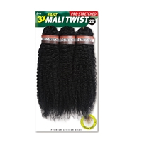 Glamourtress, wigs, weaves, braids, half wigs, full cap, hair, lace front, hair extension, nicki minaj style, Brazilian hair, crochet, hairdo, wig tape, remy hair, Lace Front Wigs, Remy Hair, Zury Sis Pre Stretched Premium Braid Fast Mali Twist 3X