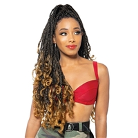 Glamourtress, wigs, weaves, braids, half wigs, full cap, hair, lace front, hair extension, nicki minaj style, Brazilian hair, crochet, hairdo, wig tape, remy hair, Lace Front Wigs, Remy Hair, Zury Sis Pre Stretched Braid - FAST ROD TIP 3X