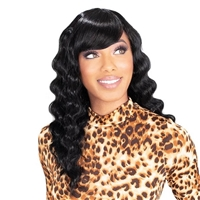 Glamourtress, wigs, weaves, braids, half wigs, full cap, hair, lace front, hair extension, nicki minaj style, Brazilian hair, crochet, hairdo, wig tape, remy hair, Lace Front Wigs,Zury Sis The Dream Synthetic Wig - DR H BANG CRIMP 18
