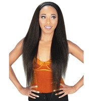 Glamourtress, wigs, weaves, braids, half wigs, full cap, hair, lace front, hair extension, nicki minaj style, Brazilian hair, crochet, hairdo, wig tape, remy hair, Lace Front Wigs, Zury Sis Synthetic Hair Headband Wig - VB H ULA
