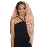 Glamourtress, wigs, weaves, braids, half wigs, full cap, hair, lace front, hair extension, nicki minaj style, Brazilian hair, crochet, hairdo, wig tape, remy hair, Lace Front Wigs, Zury Sis Synthetic 13X4 Free Part Swiss Lace Front Wig - SW-FP LACE H LUNA