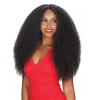 Glamourtress, wigs, weaves, braids, half wigs, full cap, hair, lace front, hair extension, nicki minaj style, Brazilian hair, crochet, hairdo, wig tape, remy hair, Lace Front Wigs, Zury Sis Naturali Star Synthetic Hair Lace Front Wig - NAT LACE H CHEX