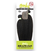 Zury Sis Only 100% Brazilian Multi Weave KINKY STRAIGH (12/14/16)