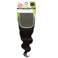 Zury Sis Only Unprocessed Brazilian Human Hair - ONLY BRZ 4X4 CLOUSURE S-BODY 14""
